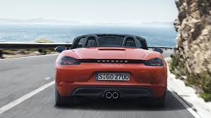 Porsche Boxster Red - the new porsche 718 boxster