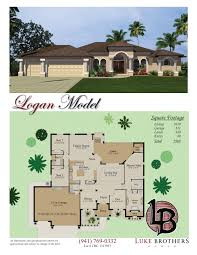 Floor Plans Florida by Color Floor Plan And Brochure Samples On Behance