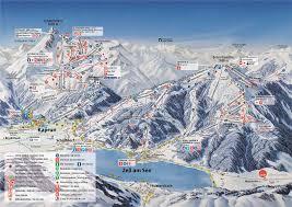 New York Ski Resorts Map by Zell Am See Ski Resort Guide Location Map U0026 Zell Am See Ski