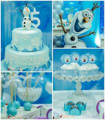 kara u0027s party ideas frozen birthday party ideas decor styling