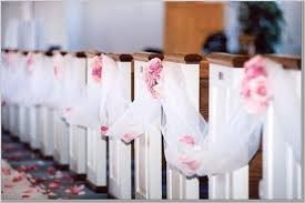 church pew decorations church and ceremony pew decorations