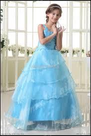 light blue dresses for kids light blue kids pageant dress bridesmaid dance party princess