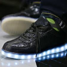 la light up shoes fashion and celebrities at nba all star weekend