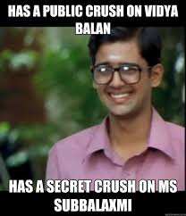 Secret Crush Meme - smart iyer boy memes quickmeme