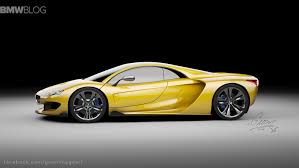 mclaren hypercar rendering bmw hypercar to compete with mclaren p1 and laferrari
