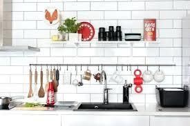 barre ustensiles cuisine barre de support d ustensiles cuisine crochets barre cuisine en