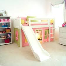 girls twin loft bed with slide loft beds kid loft bed amazing white bunk beds twin with shelves