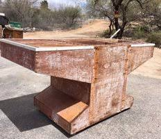 used ceramic pouring table buy sell