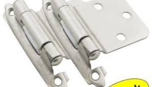 Cabinet Hinge Overlay Cosmas 17630 Sn Satin Nickel Cabinet Hinge Variable Overlay With