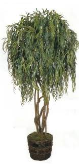 artificial weeping willow tree 8 ft with 6 trunks 4420 leaves