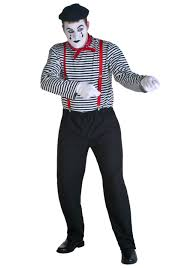 cheap mens halloween costumes mime costume