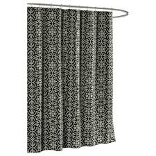 Brown Waffle Weave Shower Curtain by 13 Piece Waffle Shower Curtain With Fresco Medallions 13fmwscbp