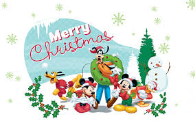 micky mouse christmas cartoons wallpapers for childrens