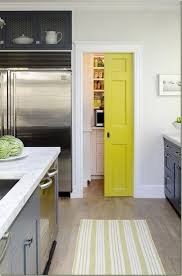 Yellow Kitchen Ideas Awesome White And Yellow Kitchen Decor With Slidding Door Kitchen