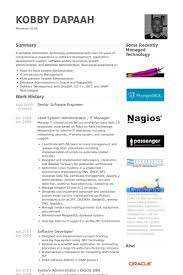 Resume Template Software by Software Resume Template Gfyork
