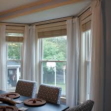 dining room window treatments ideas fascinating window treatments for bay window photo decoration
