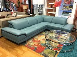 Teal Blue Leather Sofa Blue Leather Sectional Blue Leather Sofas Medium Nightstands