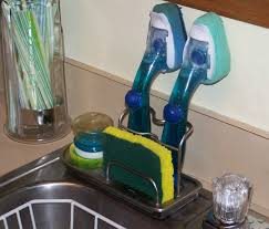 Kitchen Sink Scrubber Holder by Kitchen Sink Caddy Kitchen Sink Caddies Simple Human Sink Caddy
