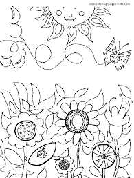 flowers coloring pages color plate coloring sheet printable