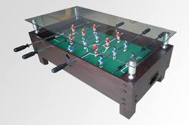 tea soccer table multi game 2 1 tea game table glass cover