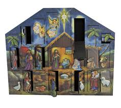 nativity advent calendar handcrafted nativity advent calendar