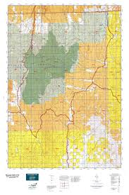 Nevada Map Nevada Gmu 072 Map Mytopo