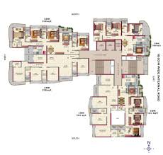 West Wing Floor Plan Metropolis Residences Hdil