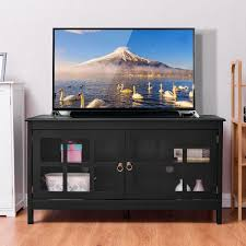 Entertainment Living Room Giantex 50 U0027 U0027 Tv Stand Modern Living Room Wood Storage Console