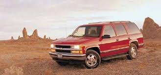 96 Tahoe Interior 1996 Chevrolet Tahoe 1996 Truck Of The Year