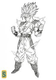 goku dbna ssj2 by bloodsplach on deviantart dragonball and z