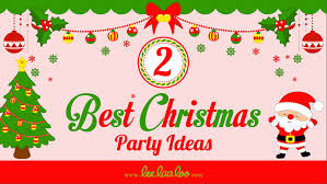 2 best christmas party ideas youtube