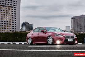 lexus gs 350 tuner 2013 lexus gs on vossen vvscv4 wheels slammed cars pinterest