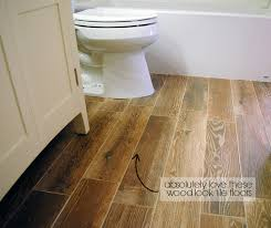faux wood tiles are a great flooring material for bathrooms they