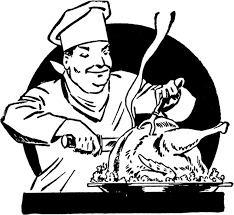 vintage turkey carving image the graphics fairy