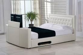 Kingsize Tv Bed Frame Kingsize Ottoman Storage Tv Bed Ivory Leaders Ceative Beds