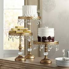 gold wedding cake stand cake stands lake party rentals