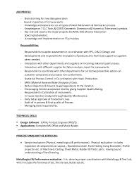 Sheet Metal Resume Examples by Resume Sheet Metal Fabrication Corpedo Com