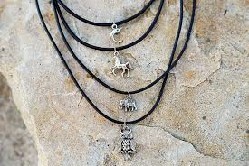 choker necklace with charms images Choker necklace charm necklace owl choker silver choker gift jpg