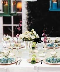 how to decorate a dinner table beautiful table settings real simple