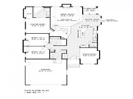 Single Storey House Plans Pictures Single Storey Bungalow Floor Plan Best Image Libraries