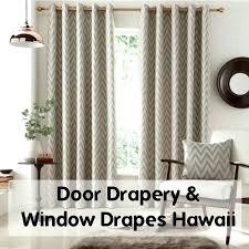 hawaiian curtains drapes curtain tropical exotic palms print 2