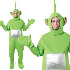 Teletubbie Halloween Costume Unisex Mens Ladies Teletubbies Tinky Winky Costume Tv