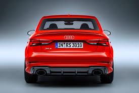 audi rs 3 sedan audi s rs3 sedan could sportback owners remorseful