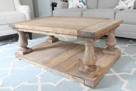 Baluster Coffee Table Diy Restoration Hardware Knockoff Coffee Table Home Sweet Ruby