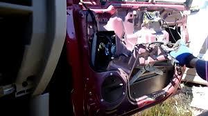 kia sorento window motor regulator removal youtube