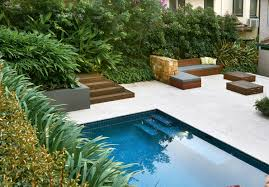 simply stylish a classic pool and landscape design completehome