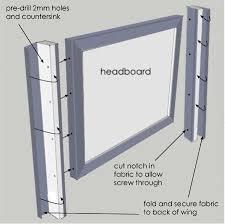 Diy Headboard Upholstered by Best 25 Wingback Headboard Ideas On Pinterest King Size