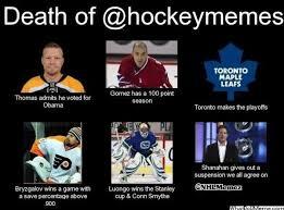 Hockey Memes - death of hockey memes