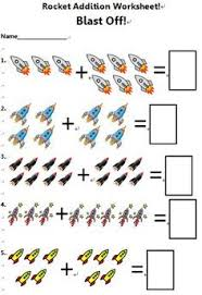 math in space addition worksheets worksheets and addition facts