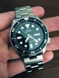 seiko solid bracelet images My new seiko skx007 on a super oyster bracelet watches jpg